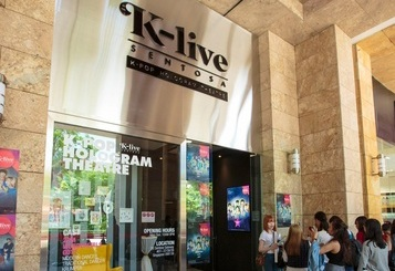 Singapore KLIVE Sentosa K-POP Hologram Theater 현지오픈 풍경입니다.^^