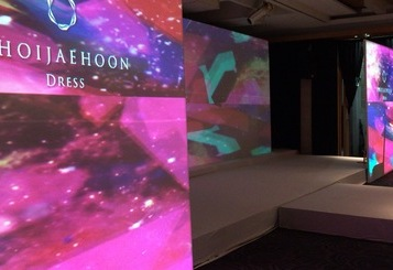 2017ChoiJaeHoon DRESS Show - Projection Mapping & Vjing